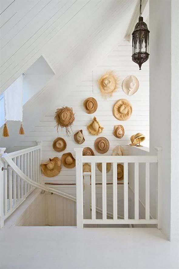 Ideias para usar chapéus na decoração 007