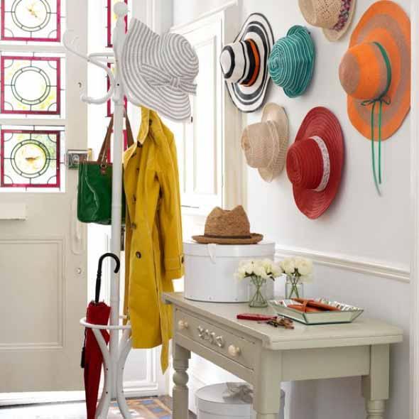 Ideias para usar chapéus na decoração 012