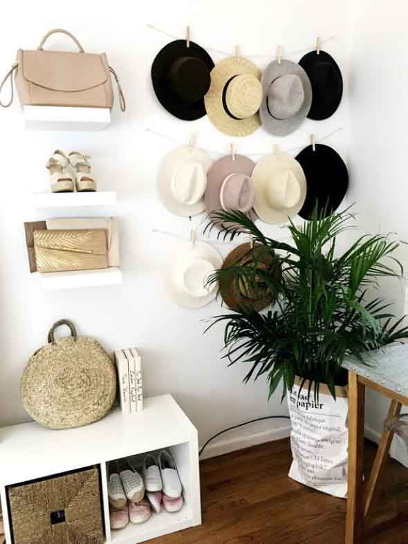 Ideias para usar chapéus na decoração 013