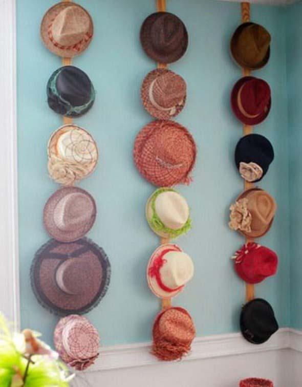 Ideias para usar chapéus na decoração 016