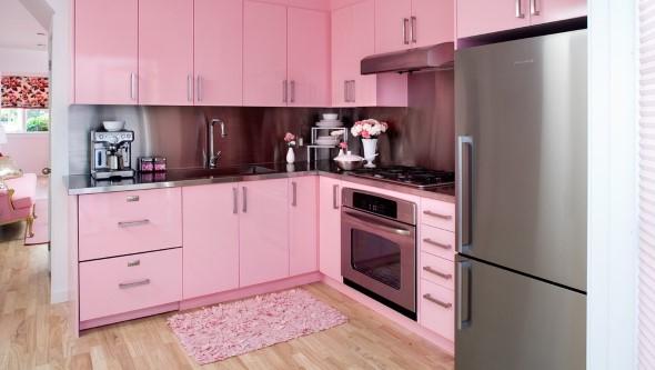 Inspiração com tons de rosa na decoração 006