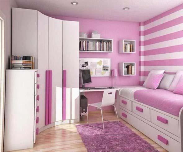 Inspiração com tons de rosa na decoração 010
