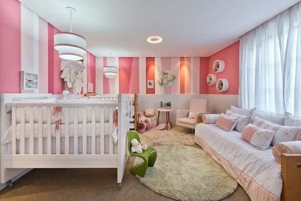 Inspiração com tons de rosa na decoração 011
