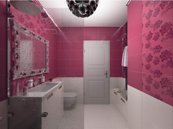 Inspiração com tons de rosa na decoração 015