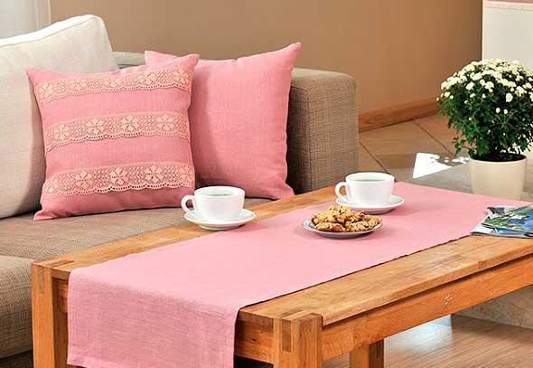 Inspiração com tons de rosa na decoração 016