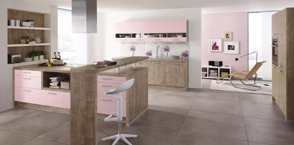 Inspiração com tons de rosa na decoração 018