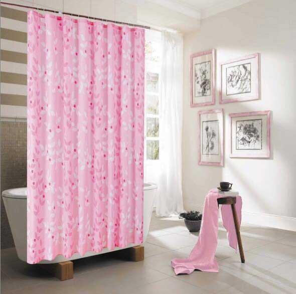 Inspiração com tons de rosa na decoração 019