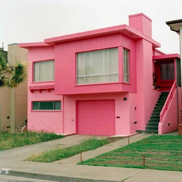Inspiração com tons de rosa na decoração 020