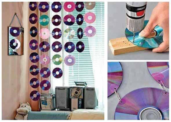 Usar CDs na decoração 002
