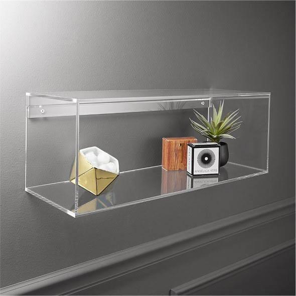 Nichos transparentes pela casa 007