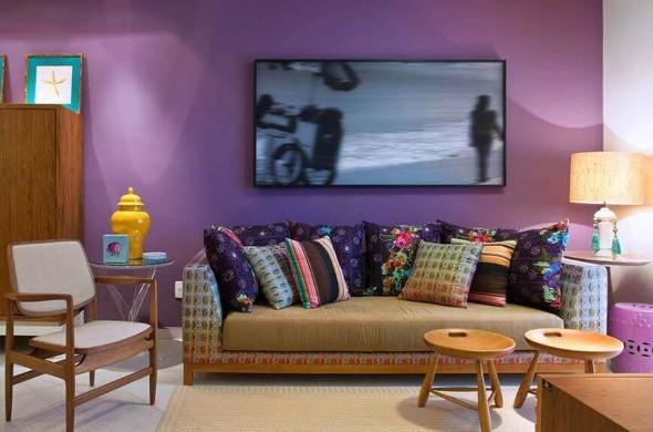 Ultra violeta na decoração 001