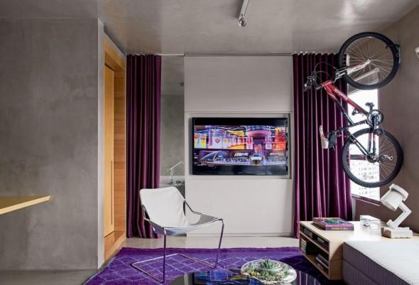 Ultra violeta na decoração 005