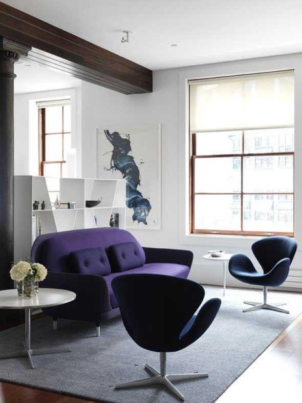 Ultra violeta na decoração 006