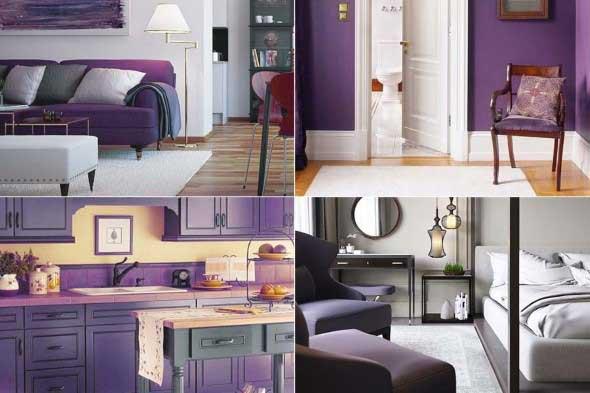 Ultra violeta na decoração 007