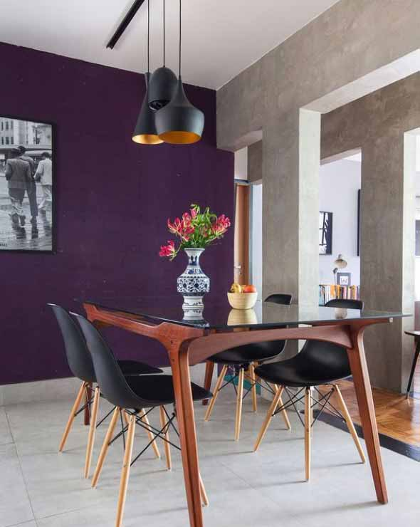 Ultra violeta na decoração 009
