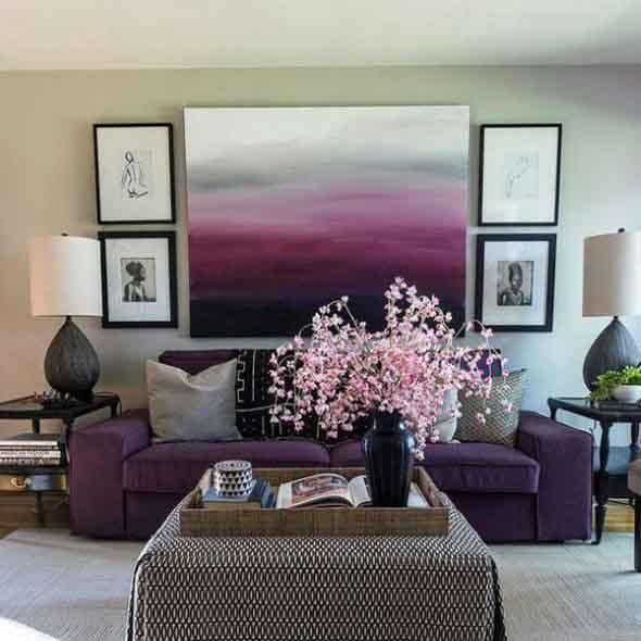 Ultra violeta na decoração 010