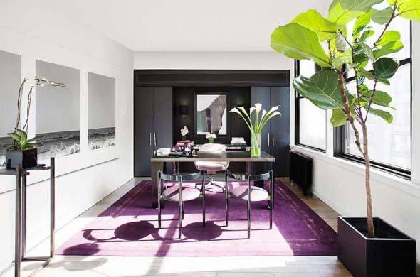 Ultra violeta na decoração 012