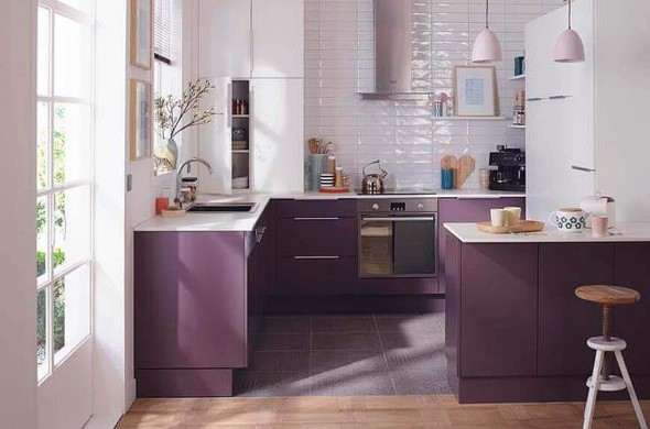 Ultra violeta na decoração 013