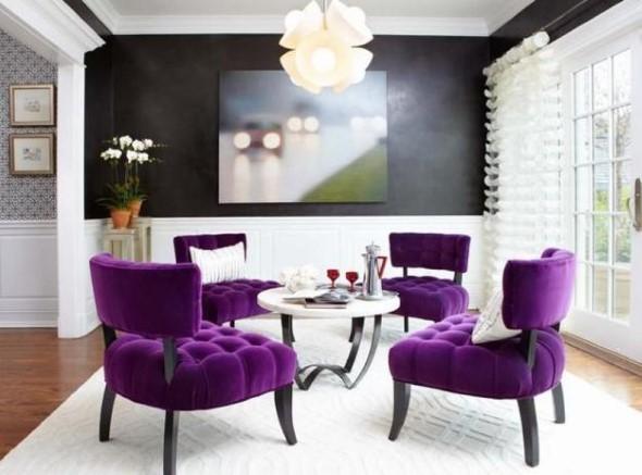 Ultra violeta na decoração 017