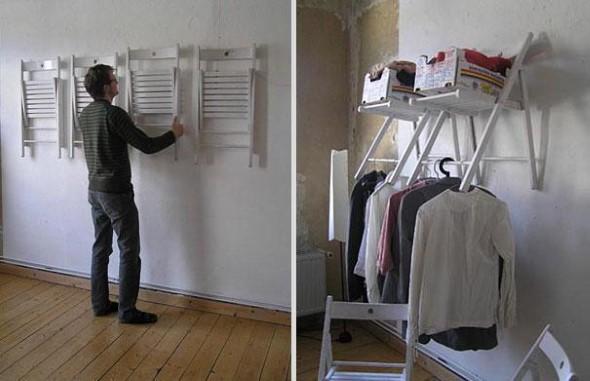 Usar cadeiras na organização de casa 010