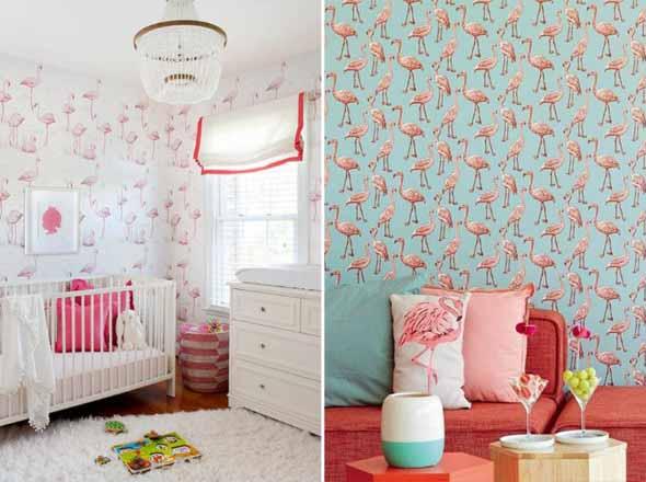 Como usar flamingos na decoração 001