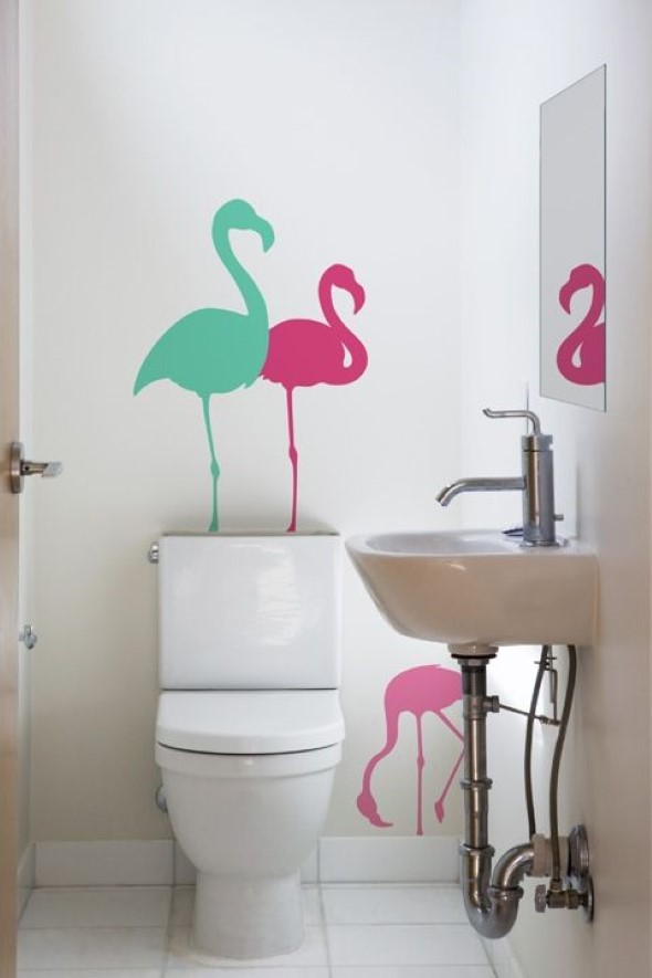 Como usar flamingos na decoração 003