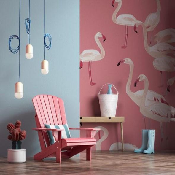 Como usar flamingos na decoração 004