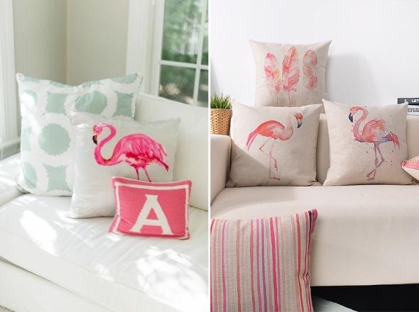 Como usar flamingos na decoração 005
