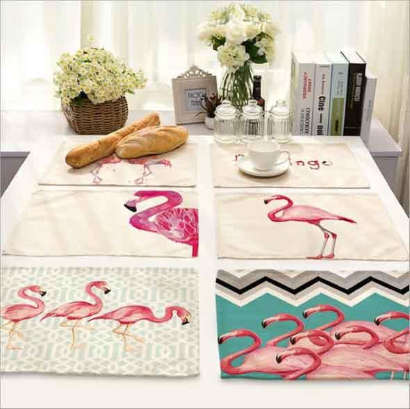 Como usar flamingos na decoração 007