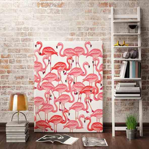 Como usar flamingos na decoração 009