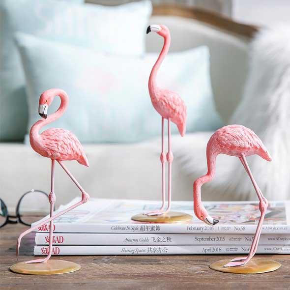 Como usar flamingos na decoração 010