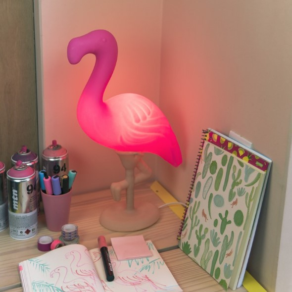 Como usar flamingos na decoração 011