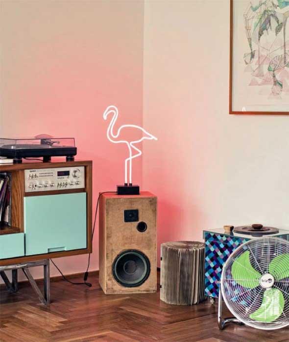 Como usar flamingos na decoração 014