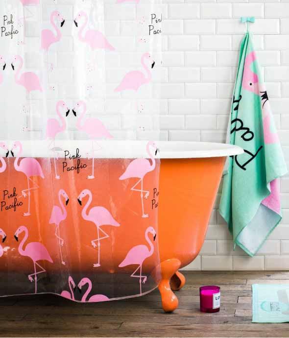 Como usar flamingos na decoração 020