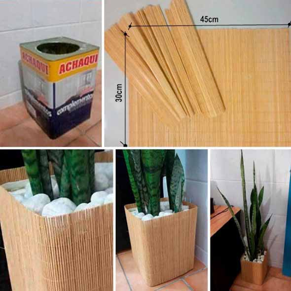 Como usar latas na decoração 005