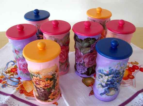 Como usar latas na decoração 018