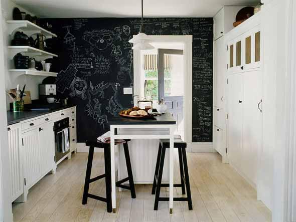 Dicas para decorar cozinhas preto e branco 013