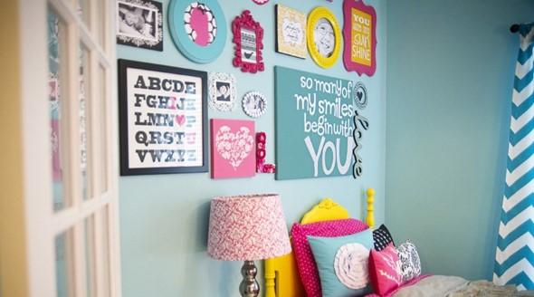 Dicas de decoração com quadros coloridos 001