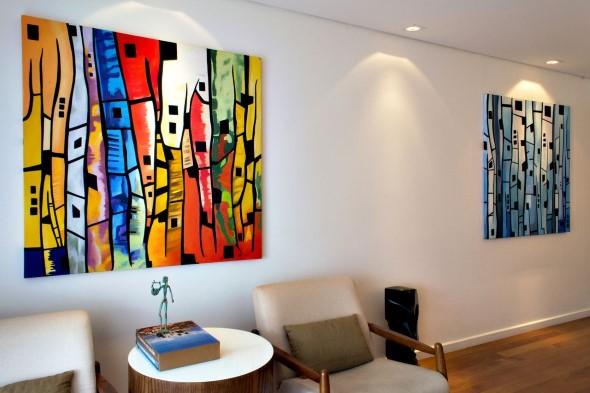 Dicas de decoração com quadros coloridos 002