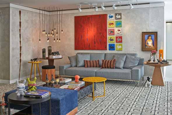 Dicas de decoração com quadros coloridos 004