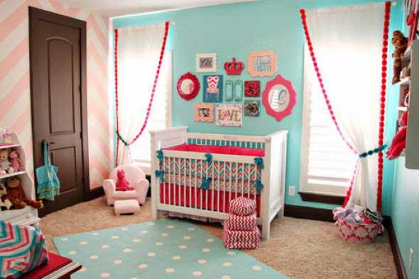 Dicas de decoração com quadros coloridos 005
