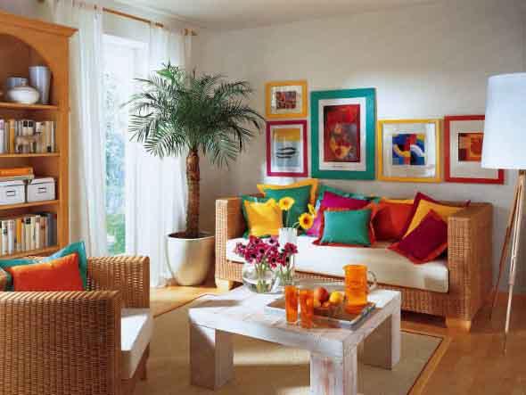Dicas de decoração com quadros coloridos 009