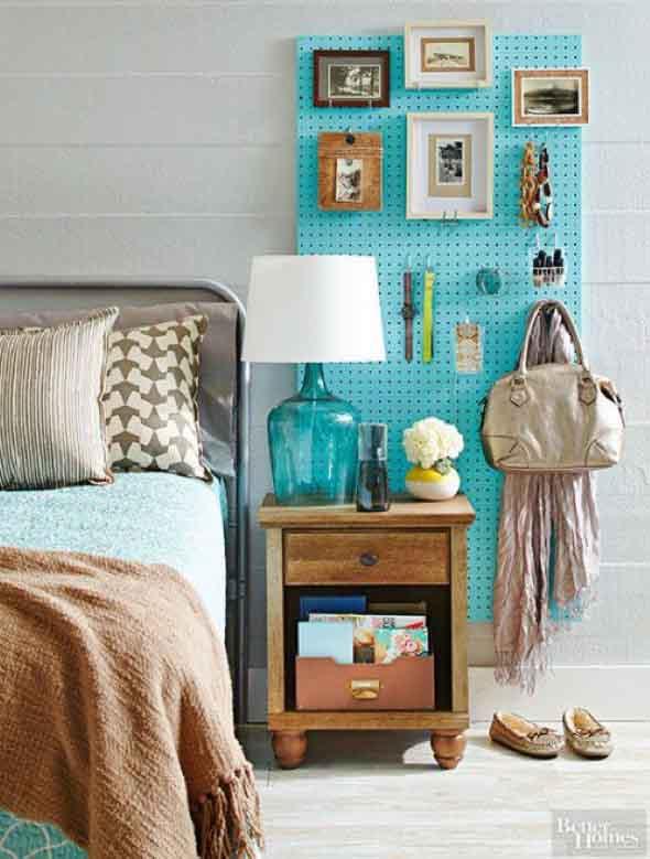Economize espaço em casa pendurando objetos 017
