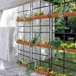 Jardim vertical no corredor 014