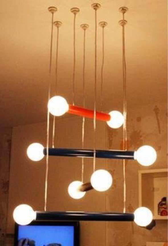 Luminárias de PVC 004