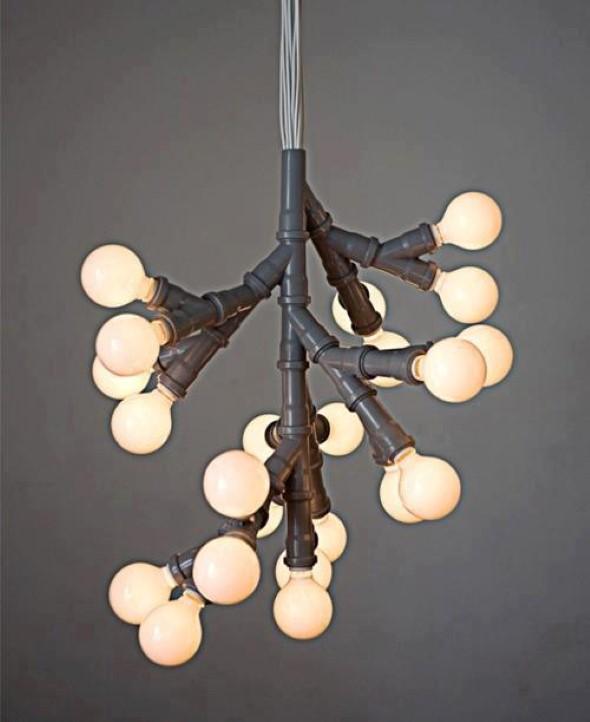 Luminárias de PVC 006
