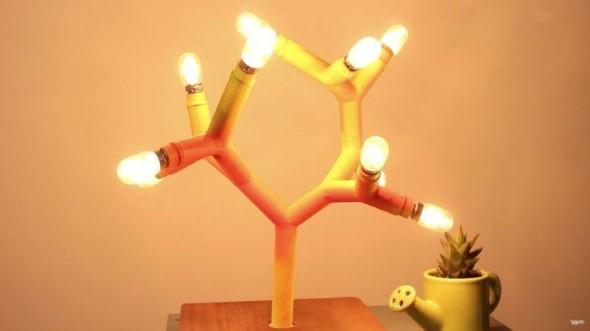 Luminárias de PVC 011
