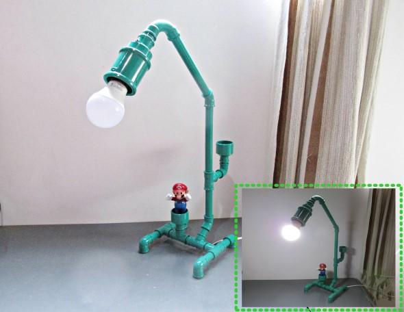Luminárias de PVC 014