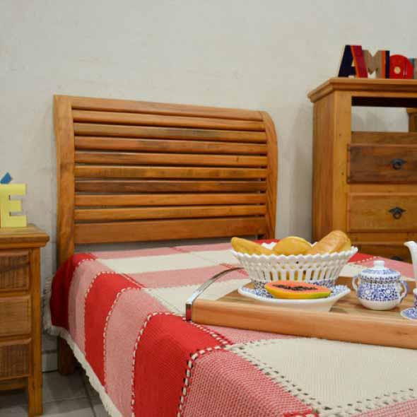 Modelos de camas com visual rústico 002