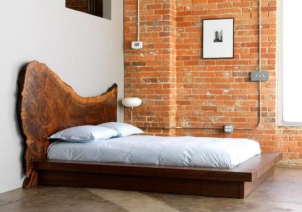 Modelos de camas com visual rústico 004